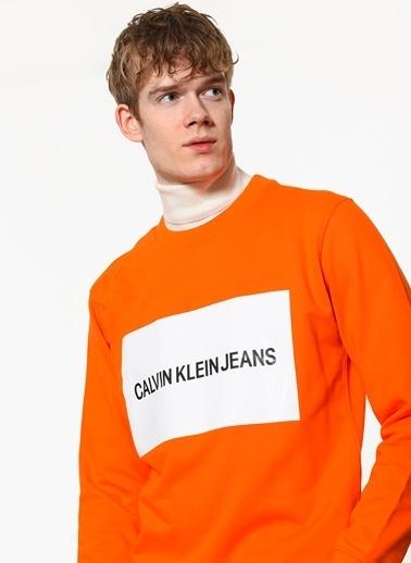 Calvin Klein Sweatshirt Oranj
